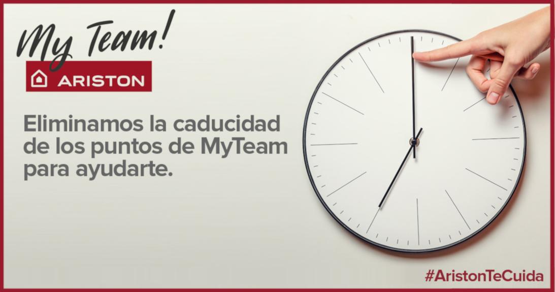 #ARISTONTECUIDA: ELIMINAMOS LA CADUCIDAD DE LOS PUNTOS MyTeam